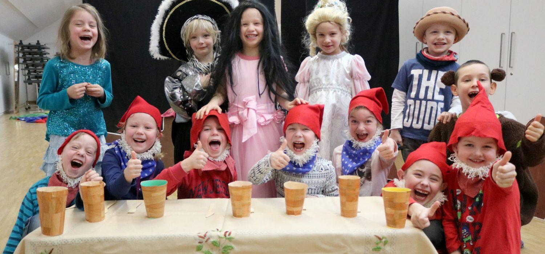 Kindertheatergruppe